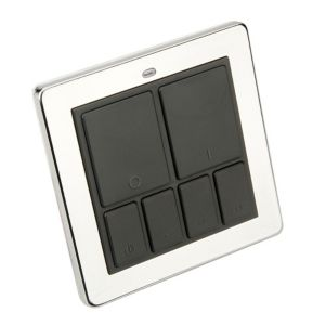 View Siemens 1-Gang Polished Chrome Remote Control Master Wall Switch details