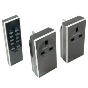 View Siemens Black Unswitched Remote Control Socket, Pack of 2 details