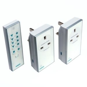 View Siemens White Remote Control Plug Socket, Pack of 2 details