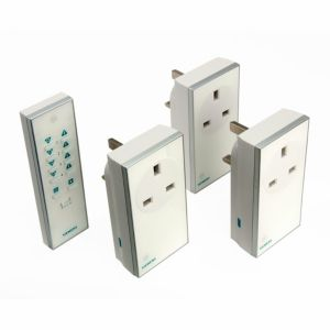 View Siemens White Remote Control Plug Socket, Pack of 3 details