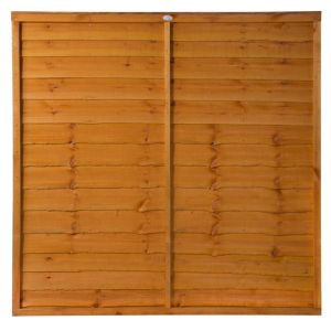 View Traditional Timber Overlap Fence Panel (W)1.83m (H)1.8m details