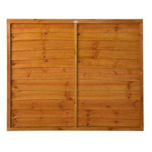 View Traditional Timber Overlap Fence Panel (W)1.83m (H)1.52m details