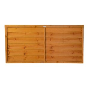 View Traditional Timber Overlap Fence Panel (W)1.83m (H)900mm details