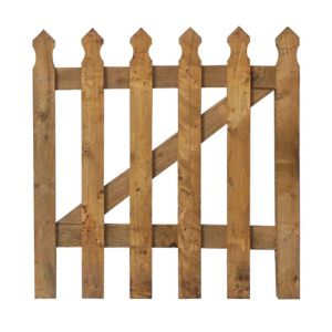 View Grange Timber Palisade Gate (H)900mm (W)900mm details