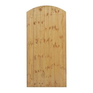 View Grange Timber Arch Gate (H)1.8m (W)900mm details