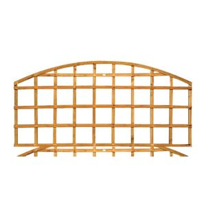 View Traditional Timber Dome Trellis Panel (H)570mm (W)1.83m details