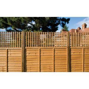 View Timber Square Trellis Panel (H)630mm (W)1.83m details
