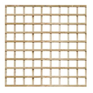 View Traditional Timber Square Trellis Panel (H)1.83m (W)1.83m details