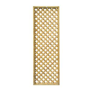 View Highgrove Timber Square Trellis Panel (H)1.83m (W)610mm details