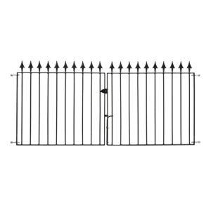 Image of Metpost Metal Spear top Gate (H)0.94m (W)2.85 m