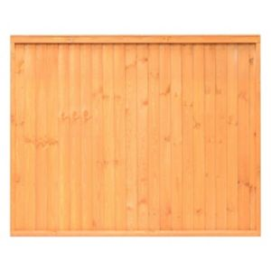 Image of Grange Closeboard Traditional Vertical slat Fence panel (W)1.83 m (H)1.8m Pack of 3