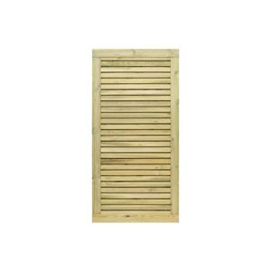 Image of Grange Wooden Decorative tall gate (H)1.8m (W)0.9 m