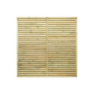 Image of Grange Contemporary Fence panel (W)1.8 m (H)1.2m Pack of 3