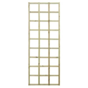 Image of Elite Timber Square Trellis panel (H)1.83m(W)0.61 m