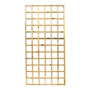 View Elite Timber Square Trellis Panel (H)1.83m (W)900mm details