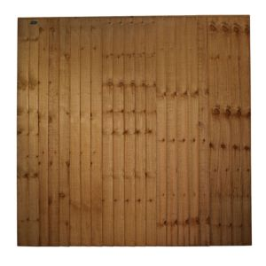 View Traditional Timber Closeboard Panel (W)1.83m (H)1.8m details