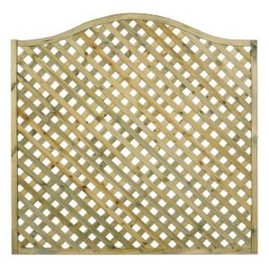 View Woodbury Timber Lattice Trellis Panel (H)600mm (W)1.8m details