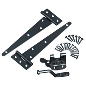 View Grange Steel T-Hinges & Auto Latch Kit details