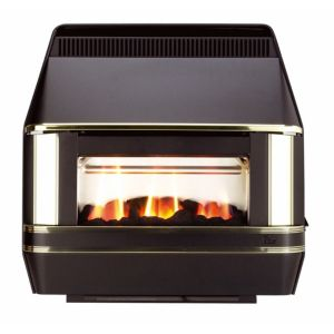 Valor Heartbeat Black Side Control Outset Gas Fire