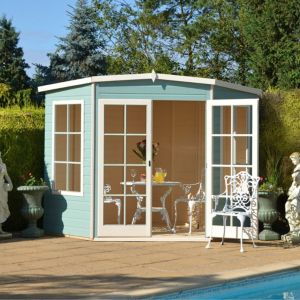 10X10 Hampton Shiplap Timber Summerhouse with Assembly Service