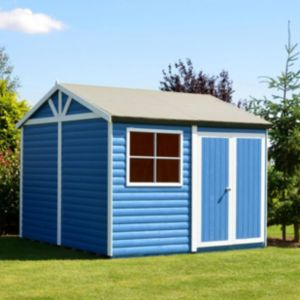 View Shire 10X10 Loglap Timber Workshop - with Assembly Service details
