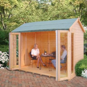 View Blenheim 10X8 Shiplap Timber Summerhouse - Assembly Required details