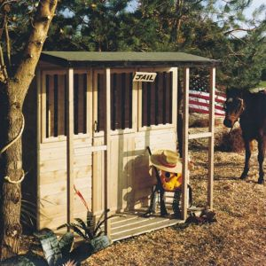 View Jailhouse 6X4 Playhouse - with Assembly Service details
