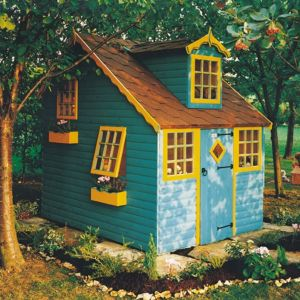 Image of Cottage 8X6 Playhouse - with Assembly Service
