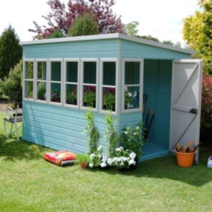 View Sun 10X6 Shiplap Timber Summerhouse - Assembly Required details