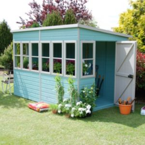 10X10 Sun Shiplap Timber Summerhouse