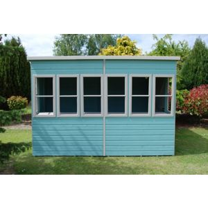 View Sun 10X10 Shiplap Timber Summerhouse - with Assembly Service details
