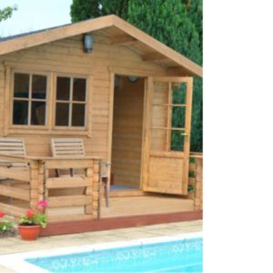 View Kinver 14X19 Loglap Timber Log Cabin - with Assembly Service details