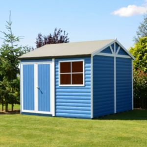 View Shire 12X12 Loglap Timber Workshop - with Assembly Service details