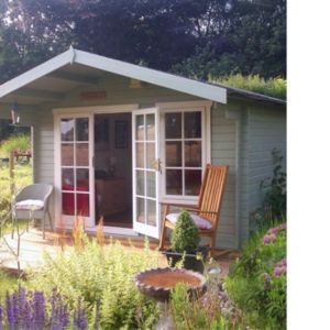 View Cannock 10X10 Loglap Timber Log Cabin - with Assembly Service details