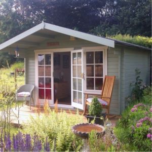View Cannock 12X10 Loglap Timber Log Cabin - Assembly Required details