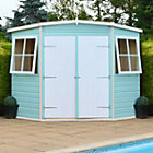 7X7 Murrow Pent Shiplap Wooden Shed with Assembly Service Best Price, Cheapest Prices