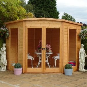 View Barclay 7X7 Shiplap Timber Summerhouse - Assembly Required details