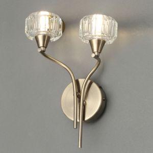 Image of Allyn Antique Brass Effect Wall Light