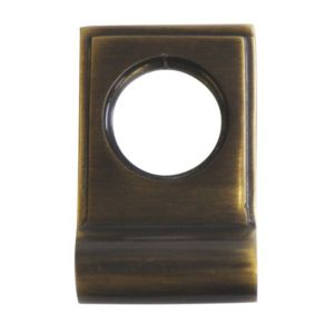 View The House Nameplate Company Antique Brass Effect Cylinder Latch Pull, Pack of 1 details