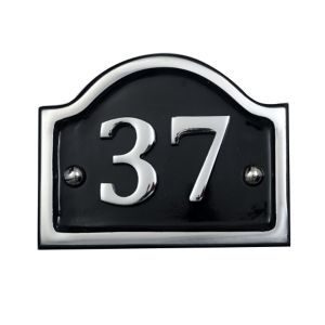 Image of Painted Aluminium 145mm House number 39