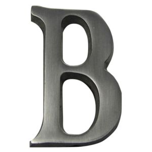 Image of Aluminium House Letter B