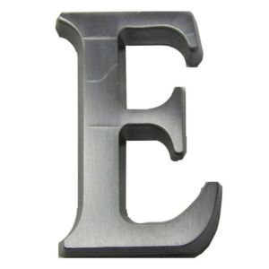 Image of Aluminium House Letter E