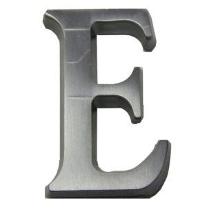 Image of Aluminium 40mm House letter E