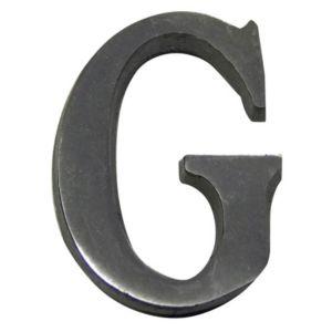 Image of Aluminium 40mm House letter G