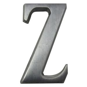 Image of Aluminium 40mm House letter Z