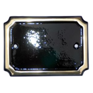 Image of Brass Rectangle House Number