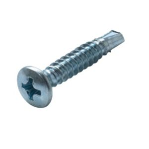 View AVF Zinc Effect Steel Window Screw (Dia)4mm (L)25mm, Pack of 50 details