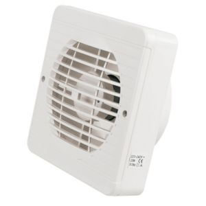Manrose Kitchen Extractor Fan with Pullcord 149 mm