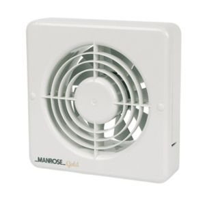 Manrose Gold Mg150BS Bathroom Extractor Fan 149 mm