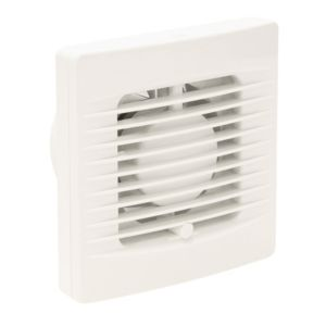 Manrose VXF100T Bathroom Extractor Fan with Timer